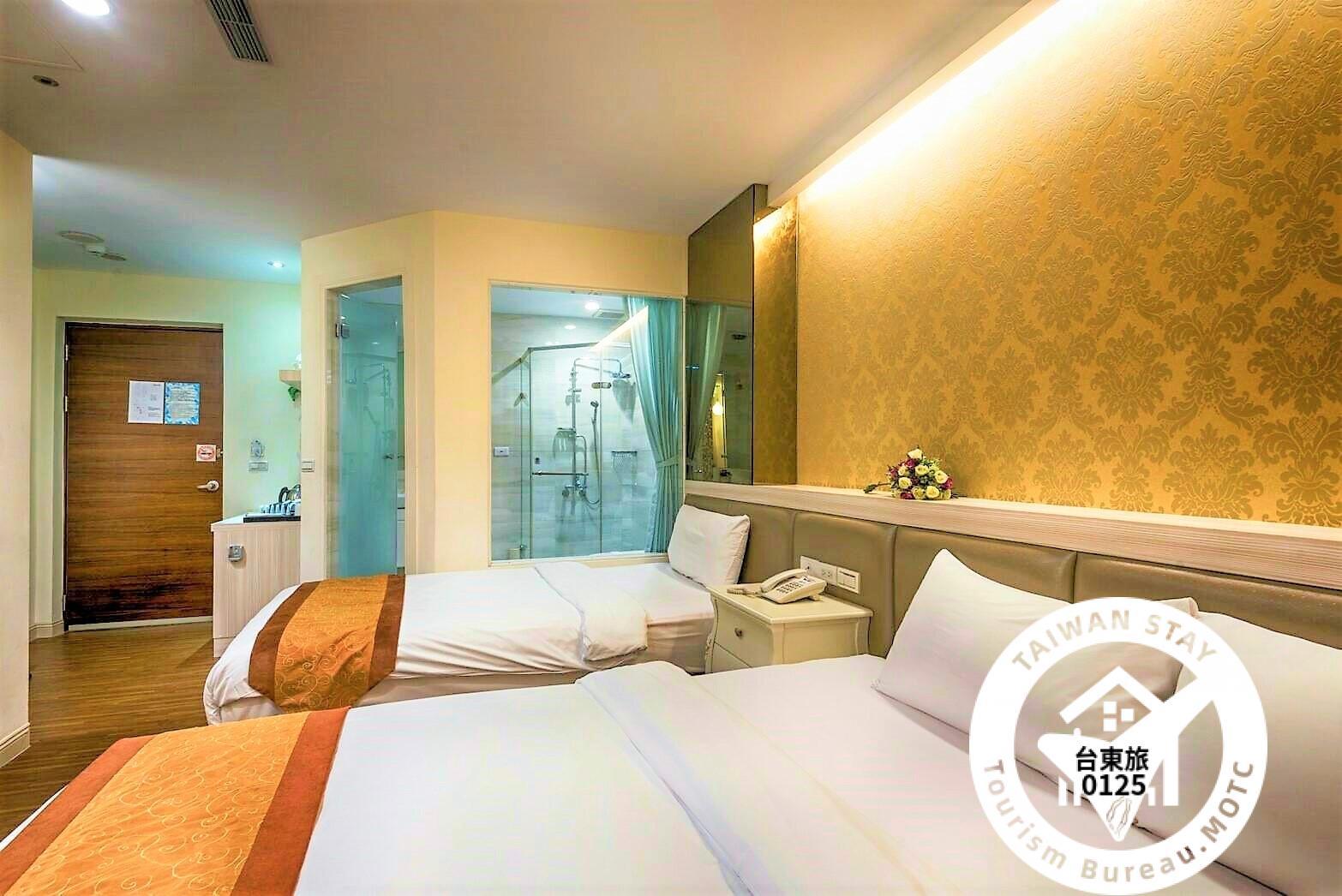 典藏溫馨三人房 (一大床+一小床)照片_2