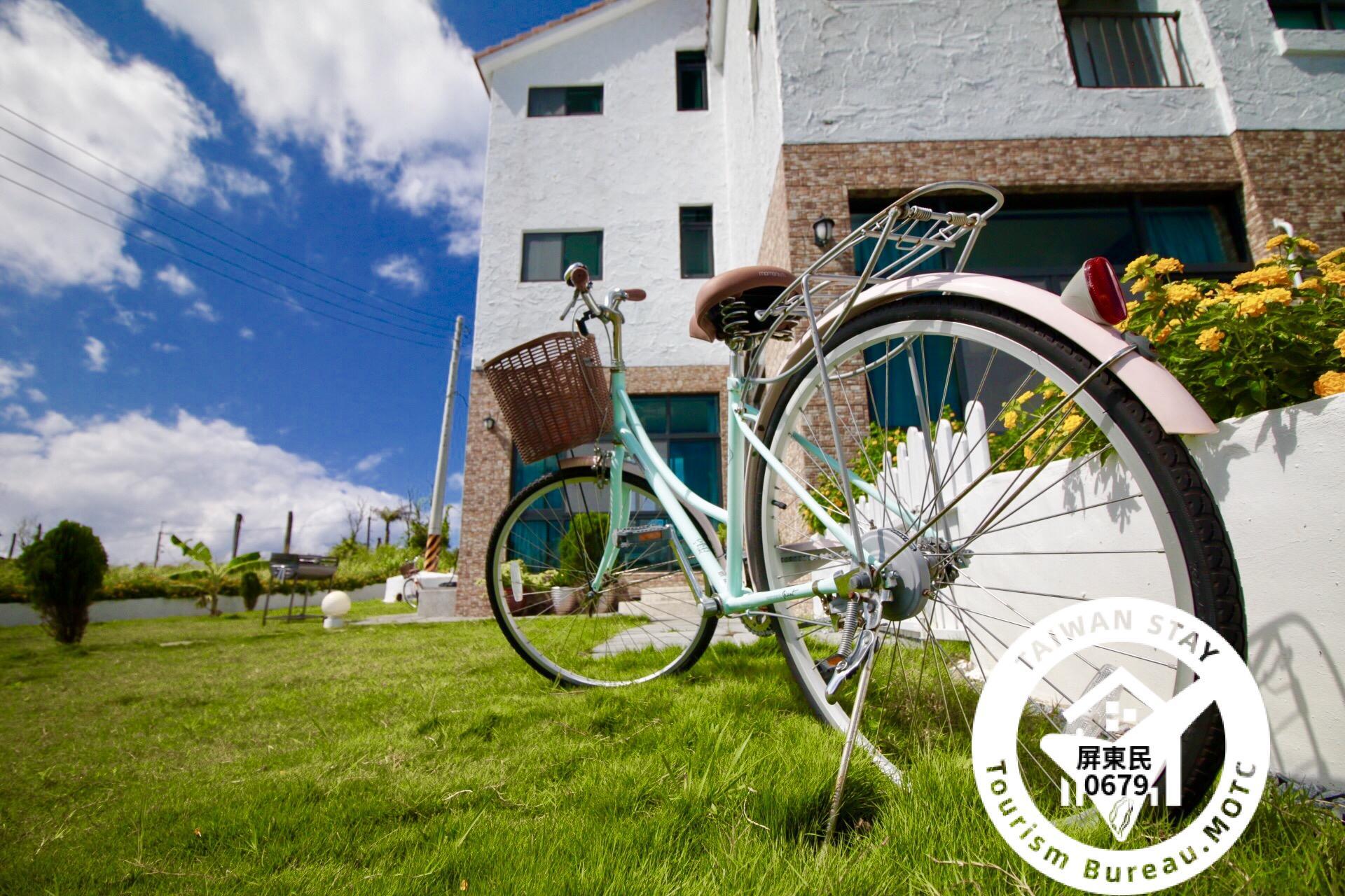 戶外兔子庭園/免費腳踏車租借
