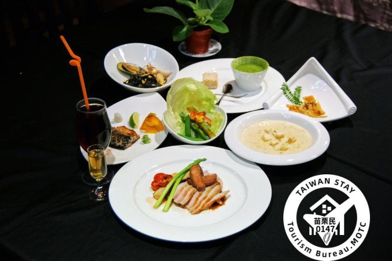山林雅境(總統民宿)-佳賀屋和風料理餐點(照片提供:勝泰5657旅遊網)
