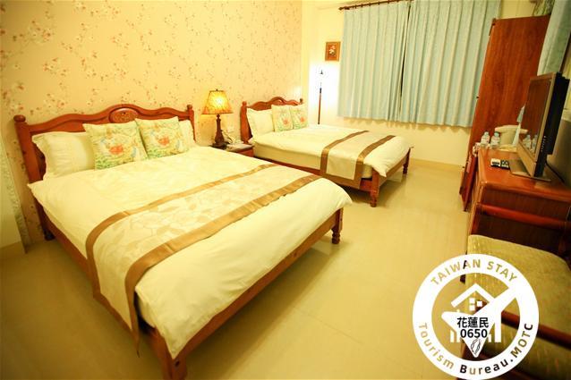 3E:精緻雙大床溫馨四人房照片_1