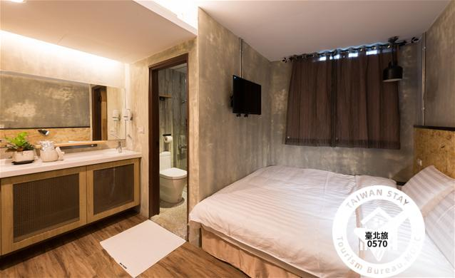 豪華雙人套房-一大床  Deluxe Double Room Ensuite照片_1