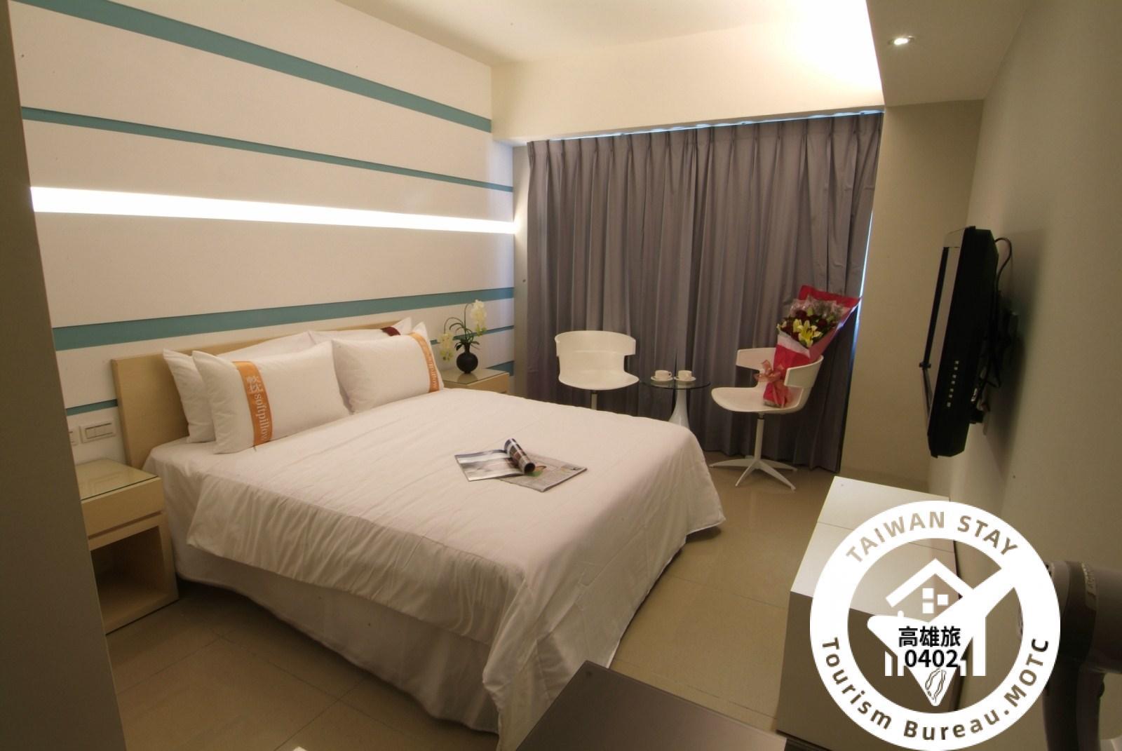 標準雙人房 (一大床)照片_1