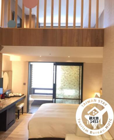 閣樓風家庭客房(2大床或1大床+1床墊)2F照片_1