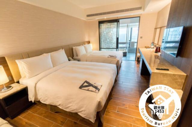 標準-家庭客房(二大床)2F-9F照片_1