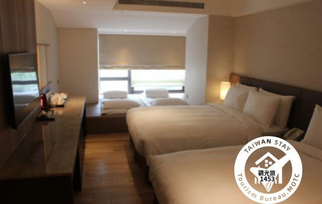 豪華家庭客房(2大床+日式床墊)3F照片_1