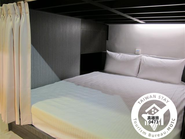 背包客共享宿舍-雙人床位照片_1