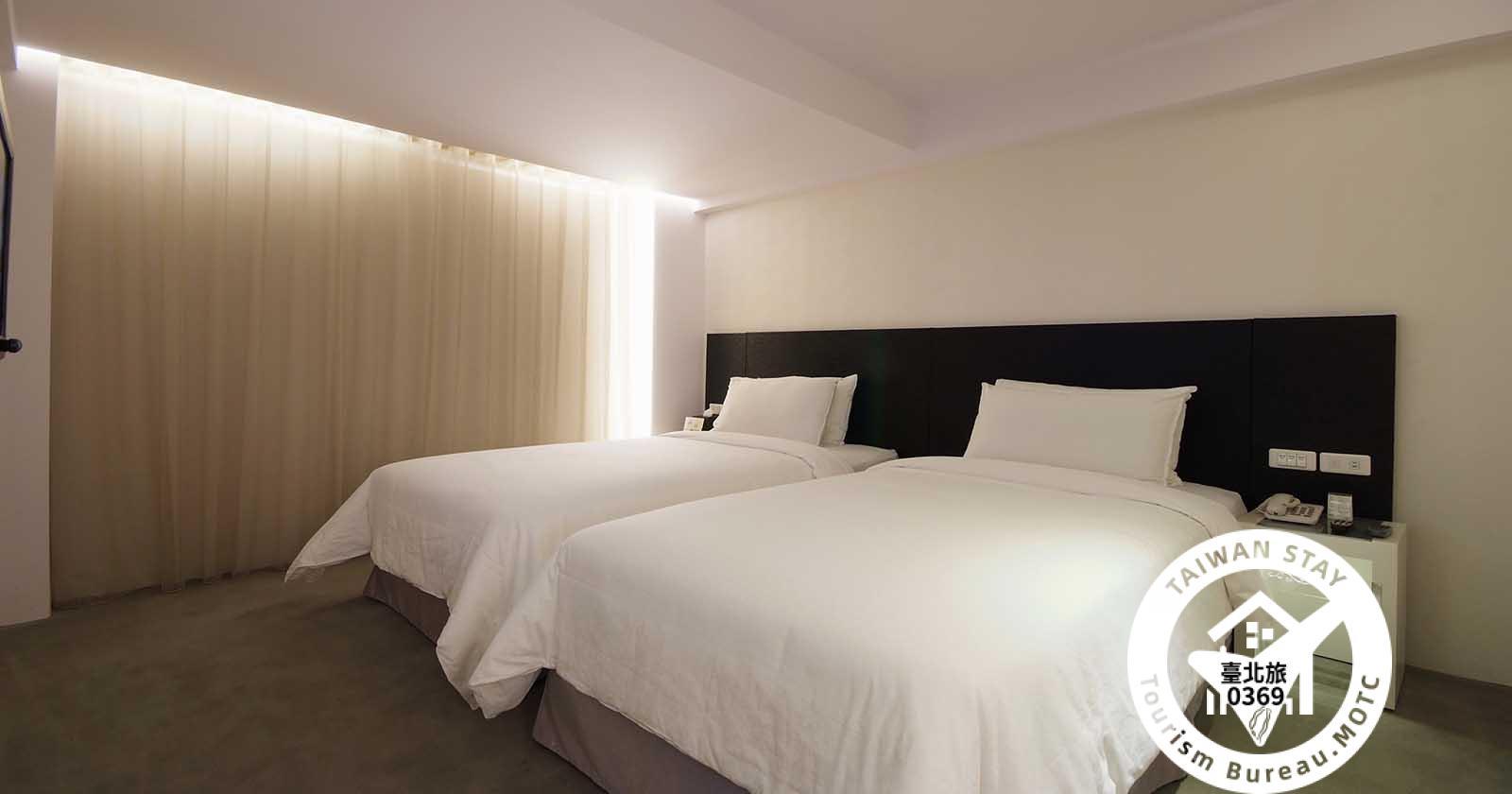 商務客房兩小床(無窗)照片_1