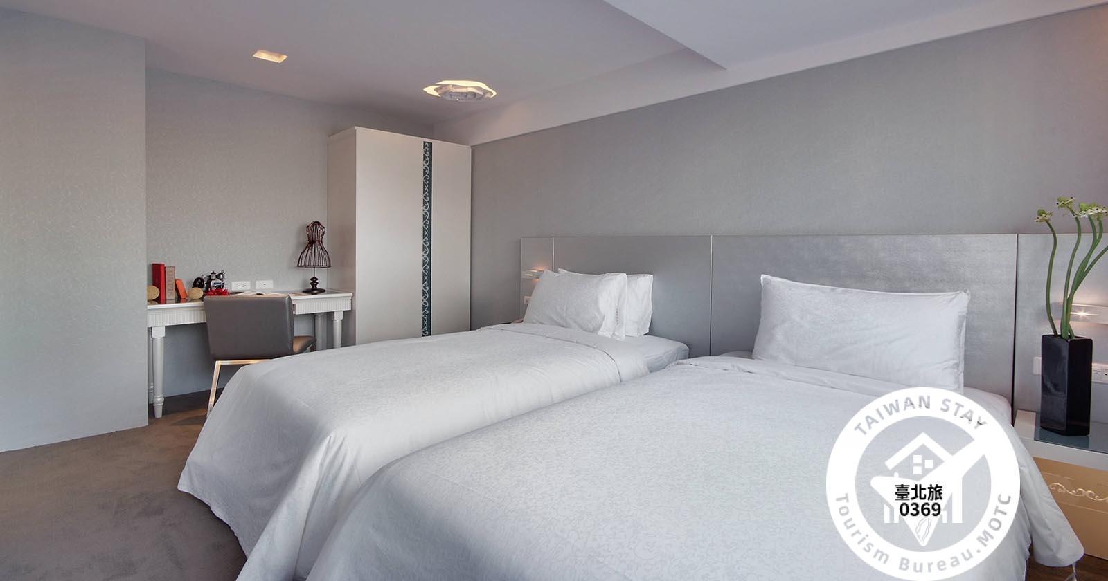 精緻客房兩小床照片_1